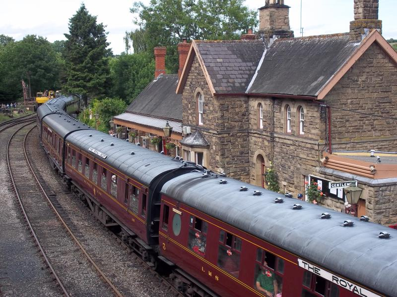 Severn Valley Railway Highley, Bridgnorth. Visit the Engine Room. Loads to see. Have lunch out.