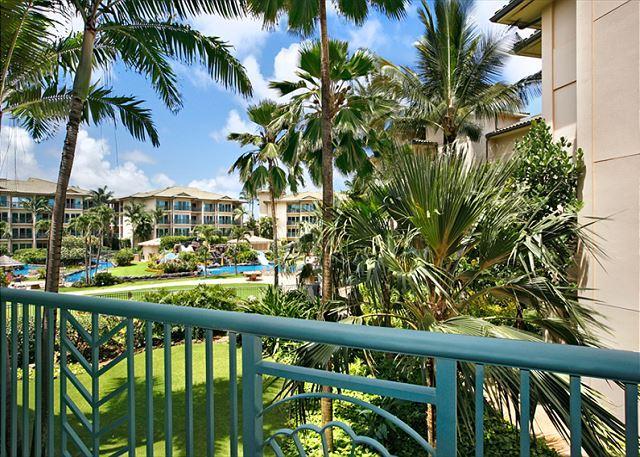 F202 - Beautiful Pool View **AC** Resort Pool & Restaurant, vacation rental in Kapaa
