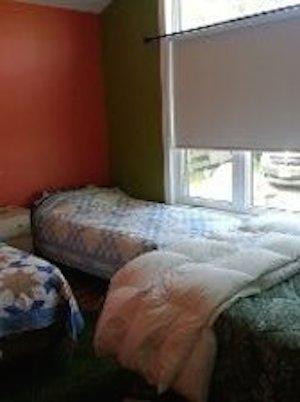 Slaapkamer voor 4-1 Queen, 2 tweeling