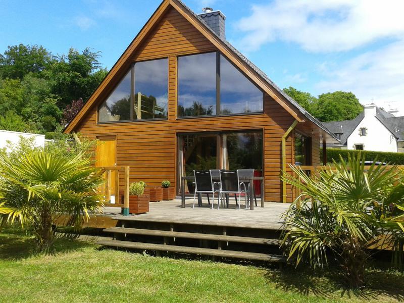 l'écrin de bois et son espace bien être, vacation rental in Saint-Mayeux