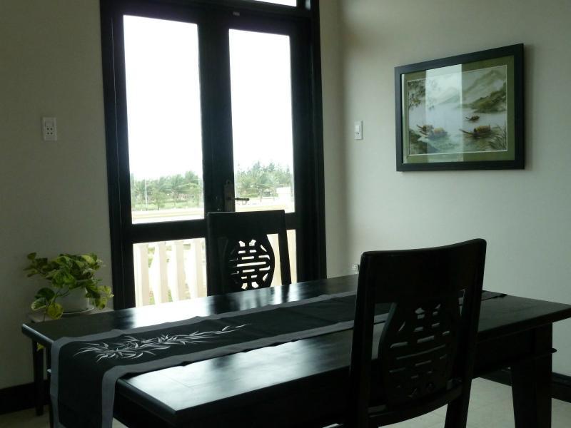 Dining area in apartment