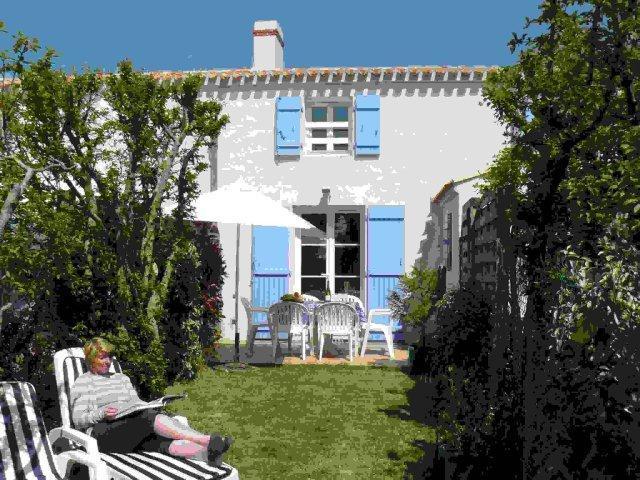 Les Mimosas, vue depuis son jardin clos privé
