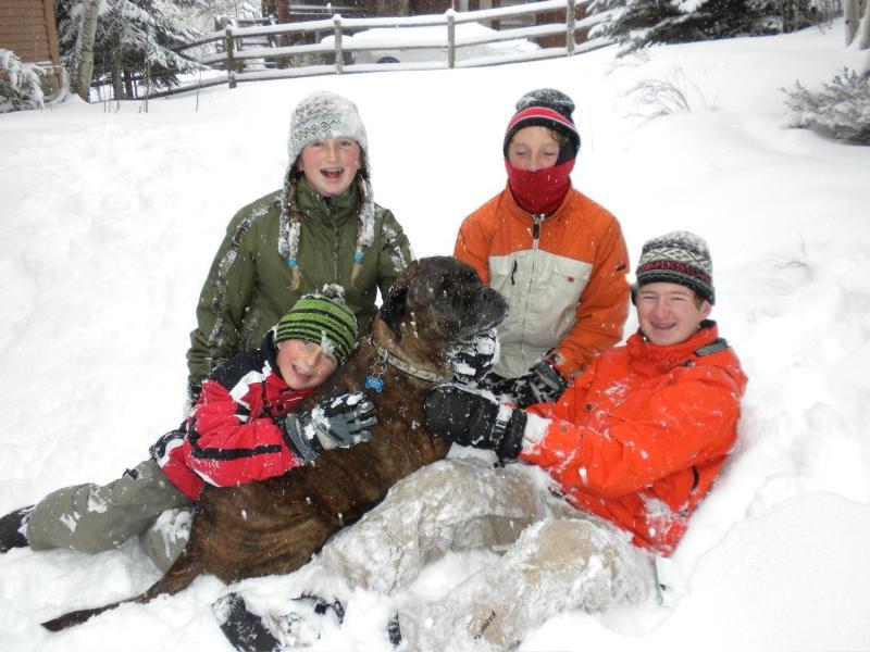 Plenty of snow for the kids