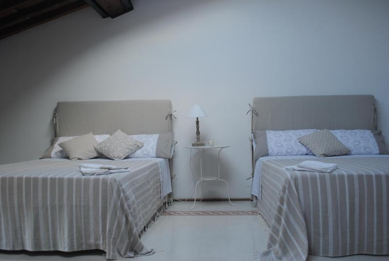 Double-bed slaapkamer