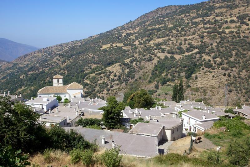 Bubión Village View