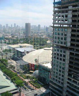 Smart Araneta Coliseum view from the balcony
