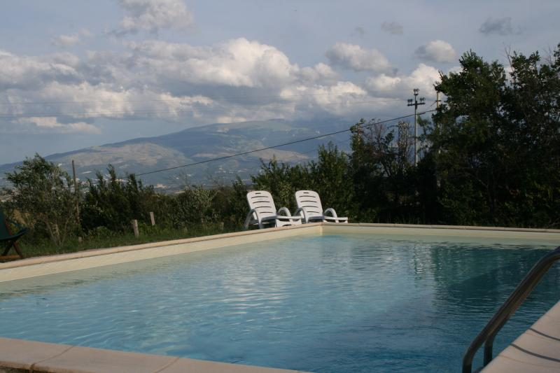 by the pool and absorb the views over the valleys all the way to the A