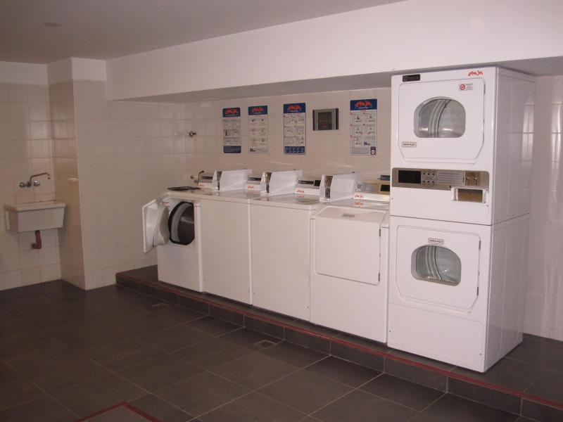 Building laundry in the Guatemala tower