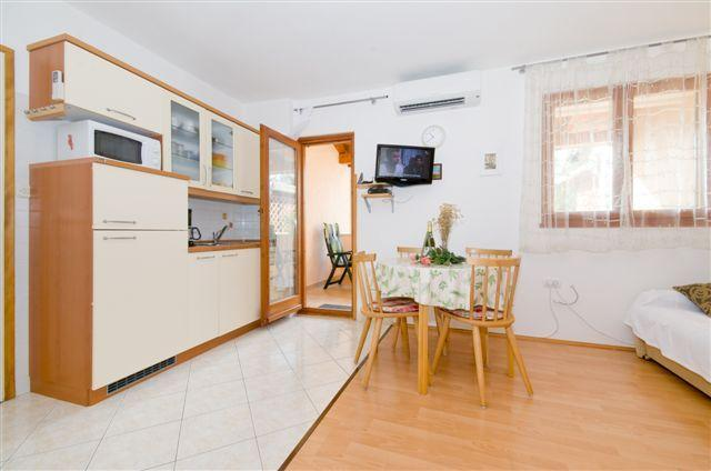 Living - kitchen area