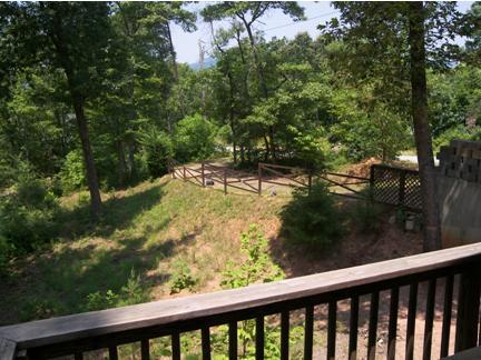 View to the west off deck
