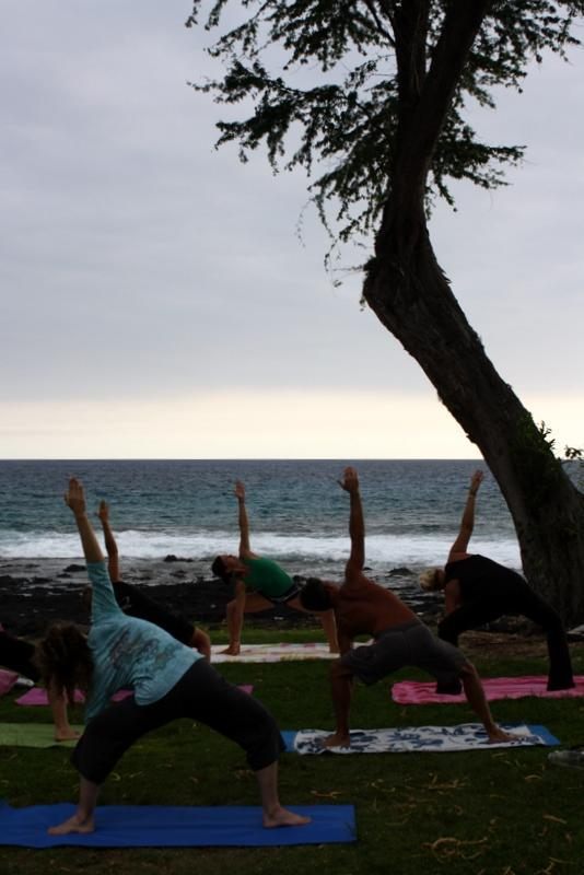 Yoga sessions in Pahoehoe