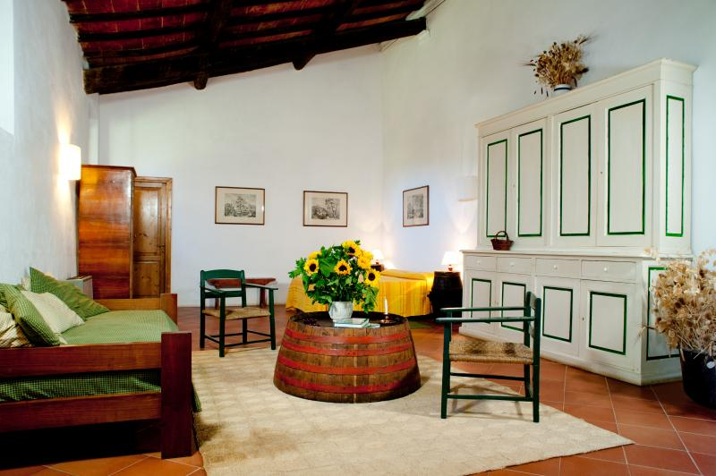 Il salotto - camera del Rosmarino