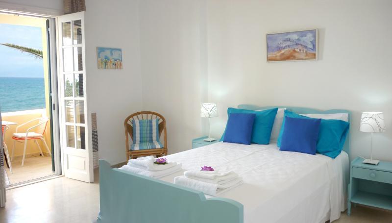 Sea Side Bedroom - Upper Floor Apartment