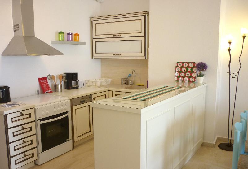 Equipped Kitchen - Upper Floor Apartment.