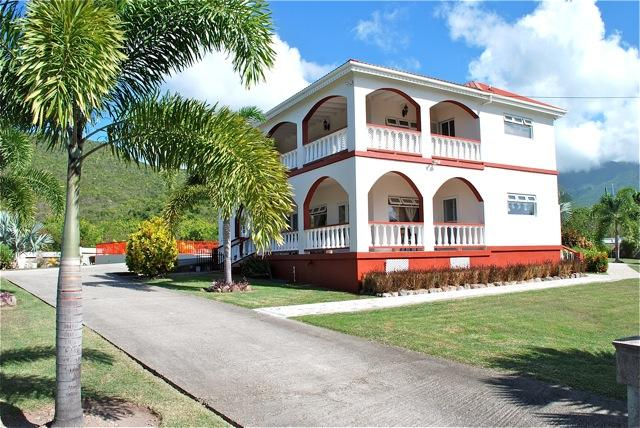 Crimson House  - A Dream Villa in Nevis, vacation rental in Turtle Beach