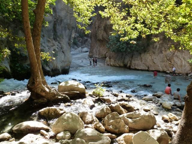 Saklikent Gorge near Kalkan