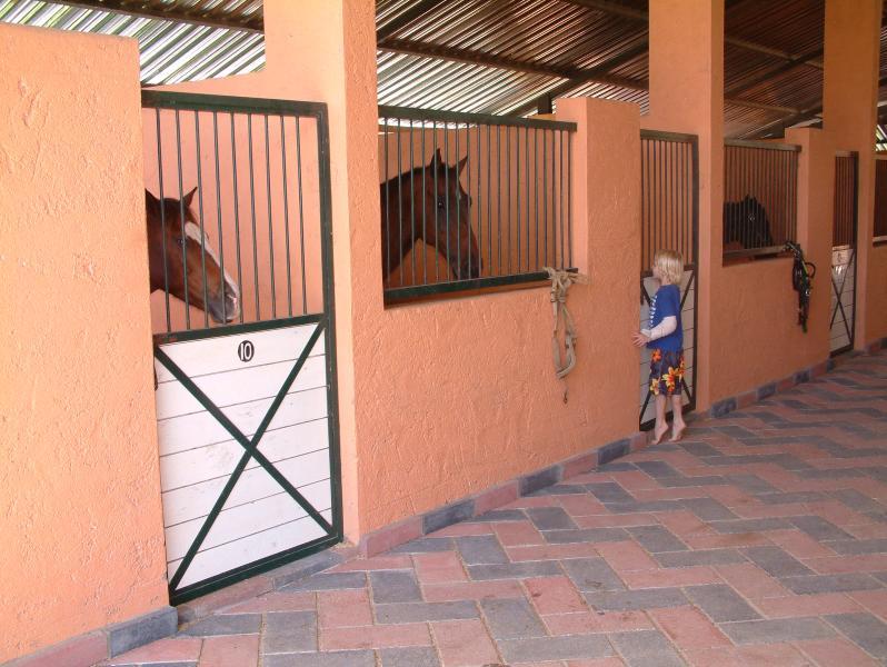 Equestian center at Sea Horse Ranch