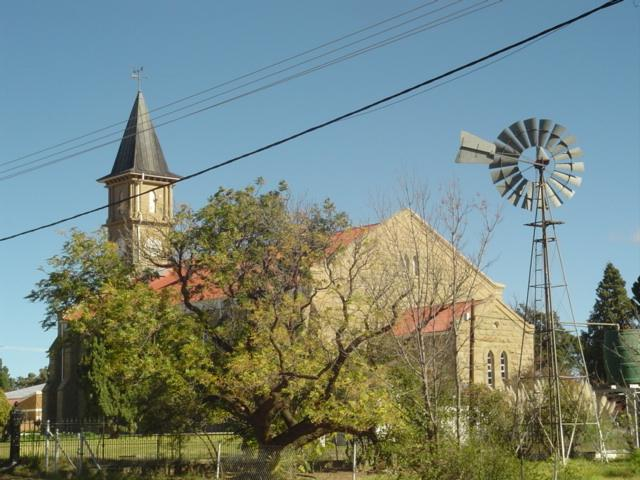 Small peaceful town where the church bells still chime every hour on the hour