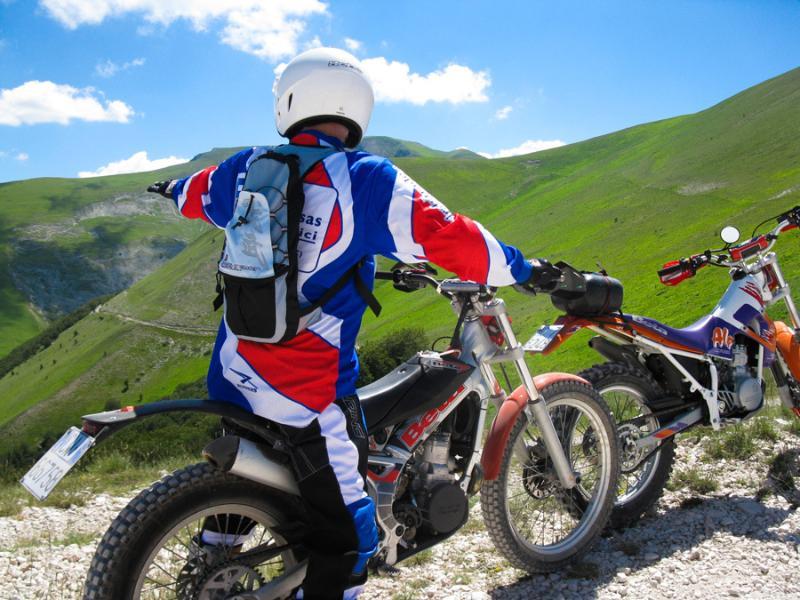 Escursione di Motoalpinismo tra i Monti Sibillini.