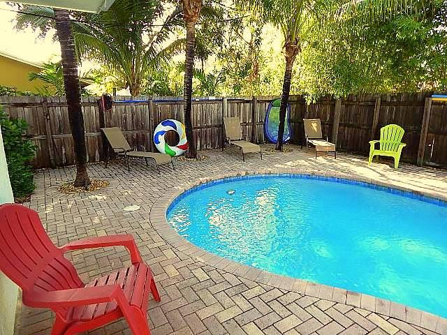 Private Heated Pool with Gas Grill