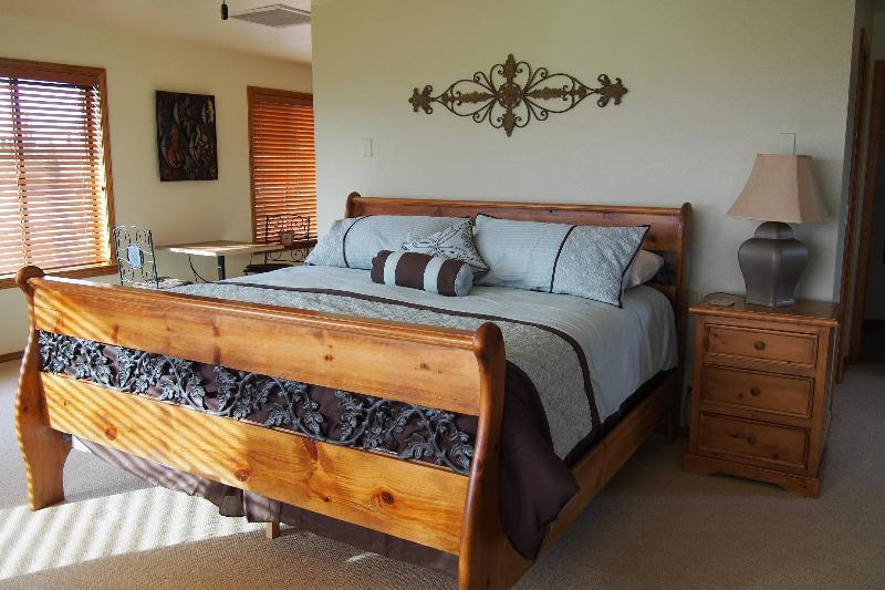 Large executive master suite