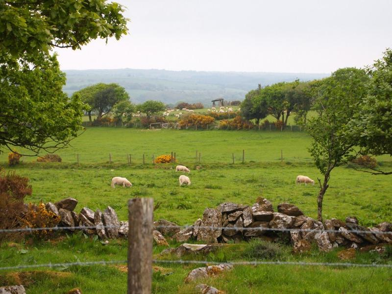Gorgeous Countryside with Ancient Stones in the Distance