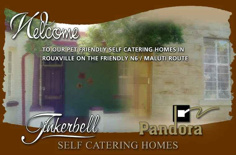 Pandora  Self Catering  Ideal stop over on N6. Pets Welcome