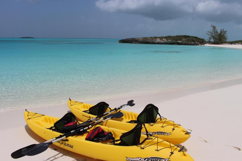 2 Ocean Kayaks waiting for adventure