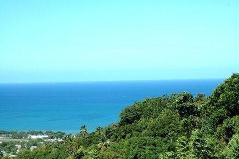 Caribbean sea view