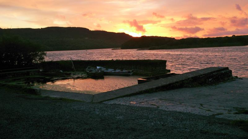Inchiquin Lake, Corofin, one fine evening