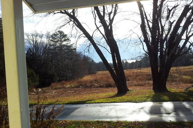 View from kitchen door looking towards Penobscot Bay