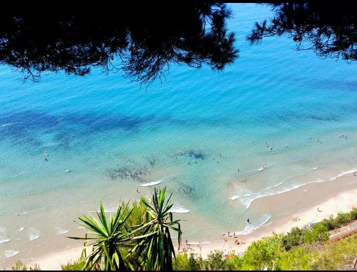 spiaggia delle Calandre calandre beach 20 min by walk from the apartment