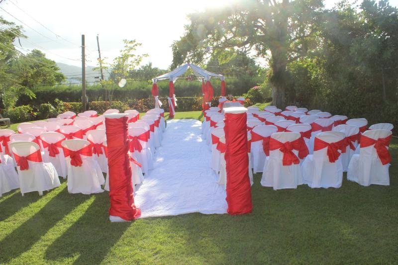 Wedding Ceremony at Villa Loyola