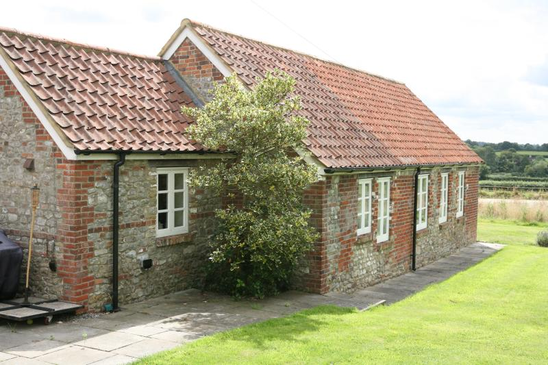 Rear of stables