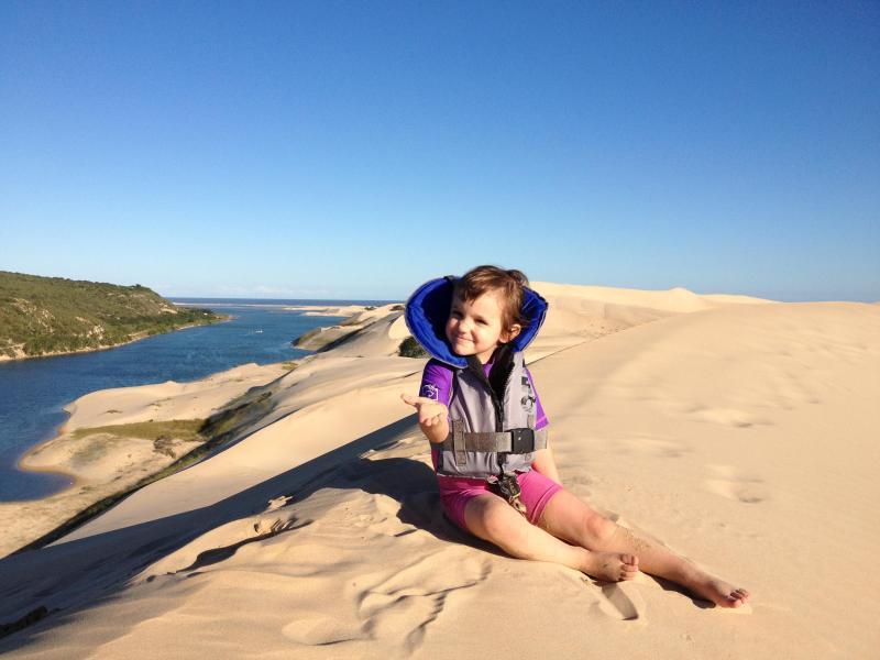 Höchste Sanddünen im südlichen Afrika