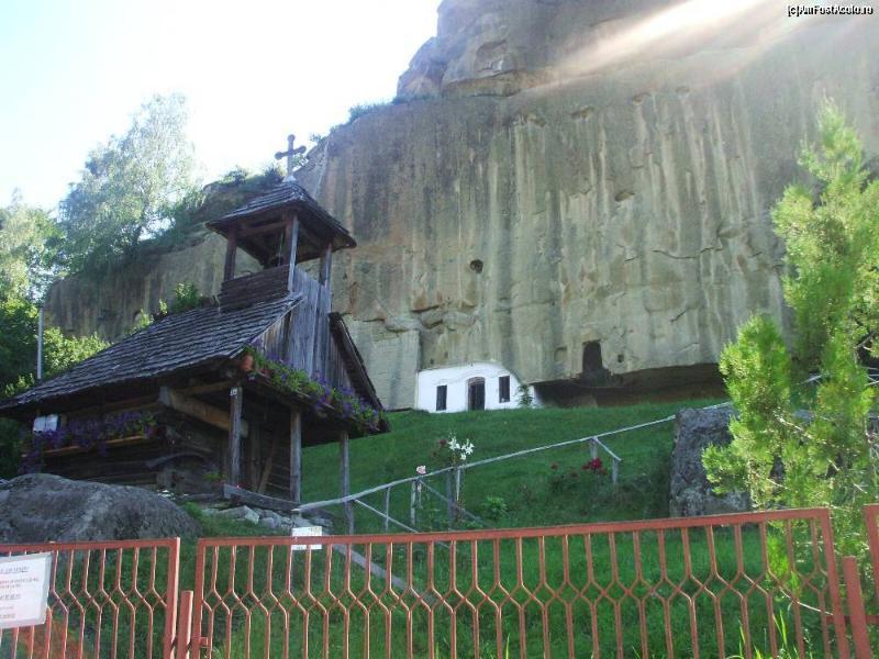 The Stone Monastery in Corbi
