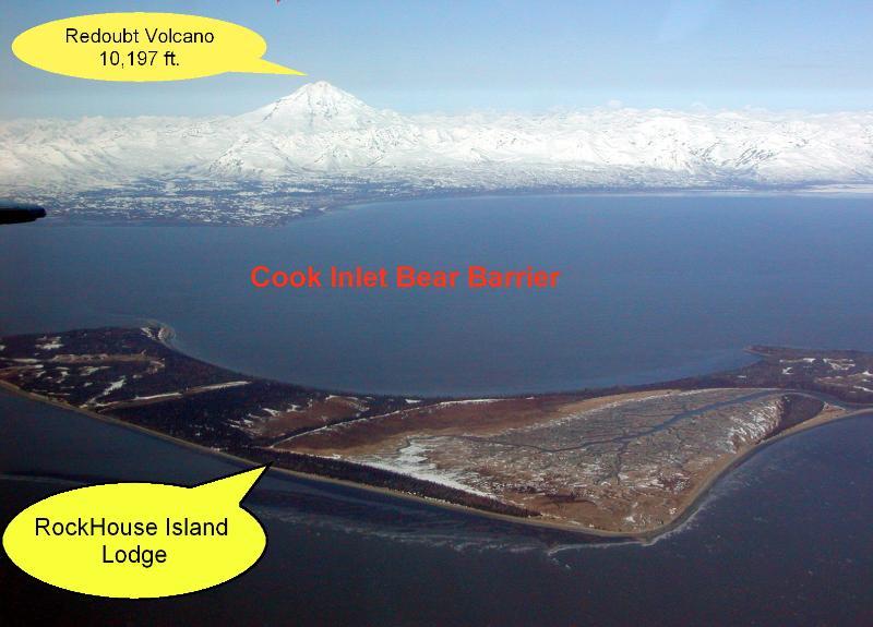 La vue d'ensemble de l'île