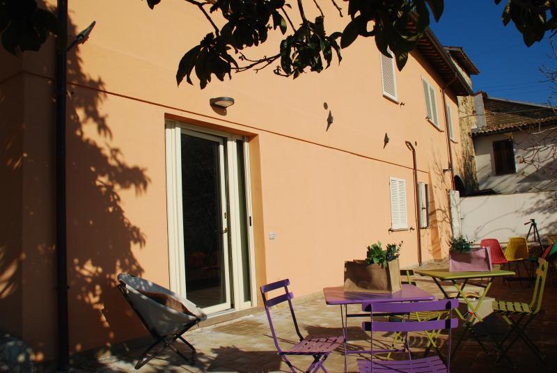 Country house l ' Ulivo aplics Moraiolo-entrada