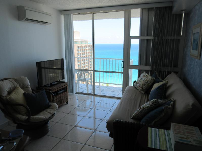 Living Room with Breathtaking Ocean Views