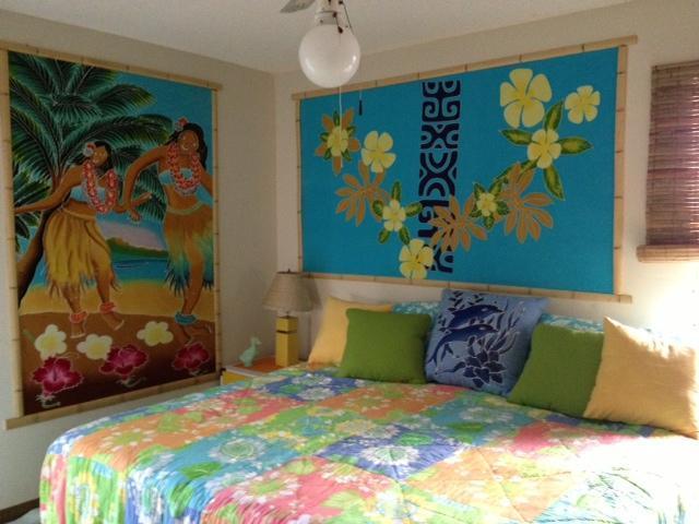 Dormitorio principal con cama King-size.
