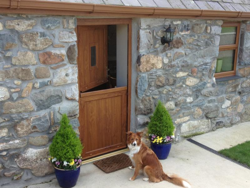 A secure garden provides a safe haven for young children and pets alike!