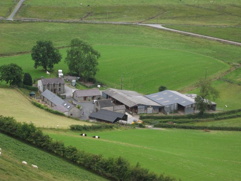 Byre cottage on a  working farm in Cambrian  Mountains of Mid Wales - great for walks and relaxation
