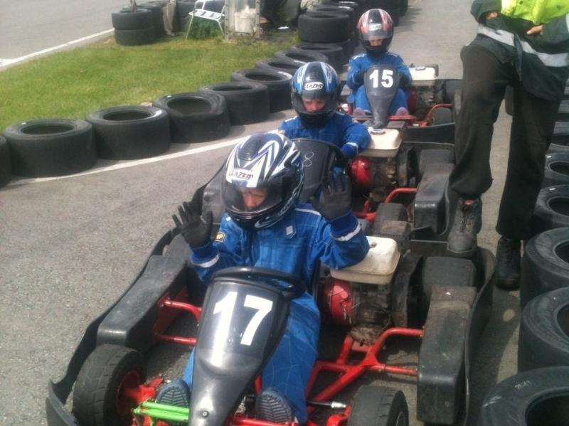 Go Karting at Cartio Mons - 15 mins away