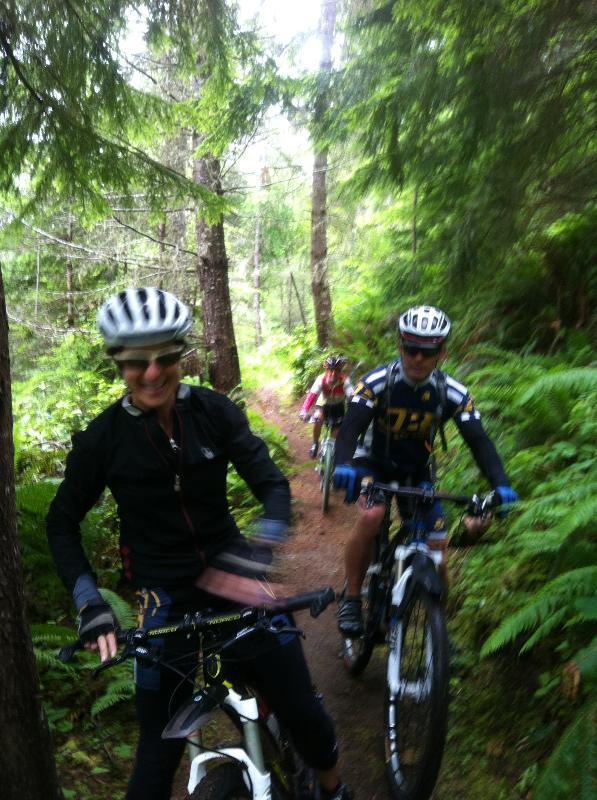 Have fun mountain biking the 25 mile long Adventure Trail