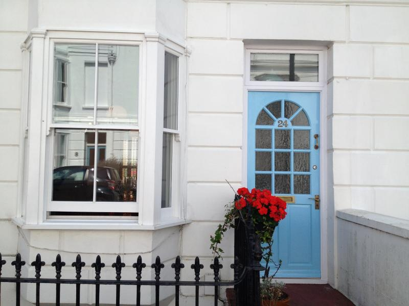 1850's Victorian building with your own private entrance door to your two storey apartment