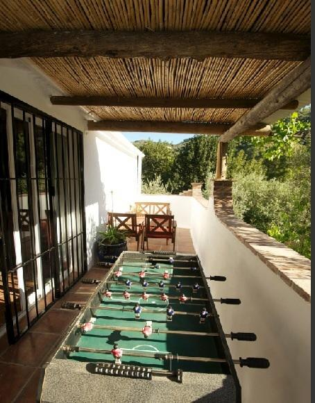 Table football terrace