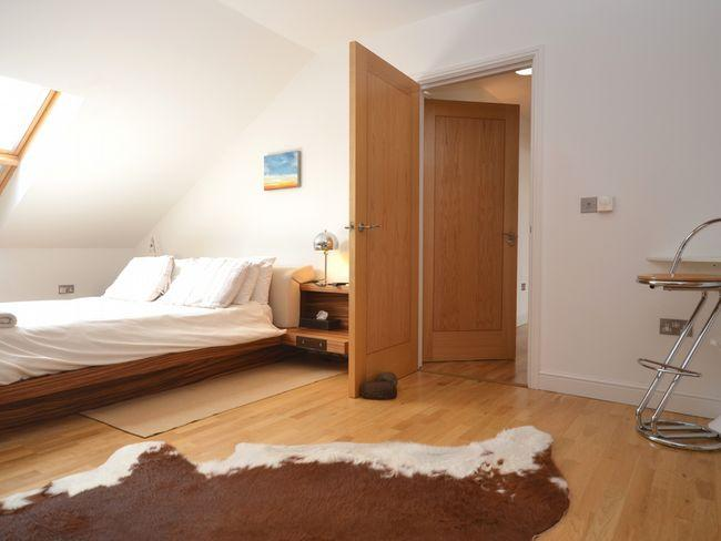 Master king-size double bedroom with en-suite shower room