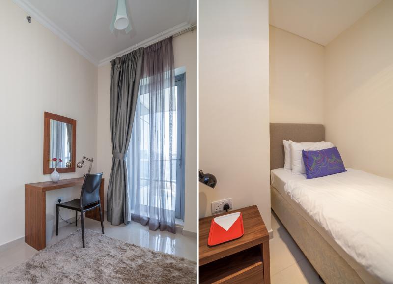 Quarto 4 - cama de solteiro com casa de banho ensuite próprio.
