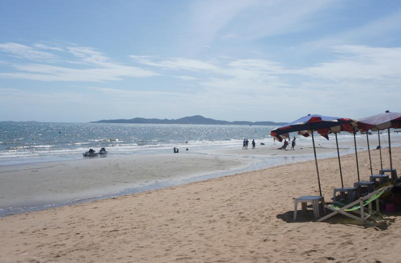Jomtien Beach is only minutes away!