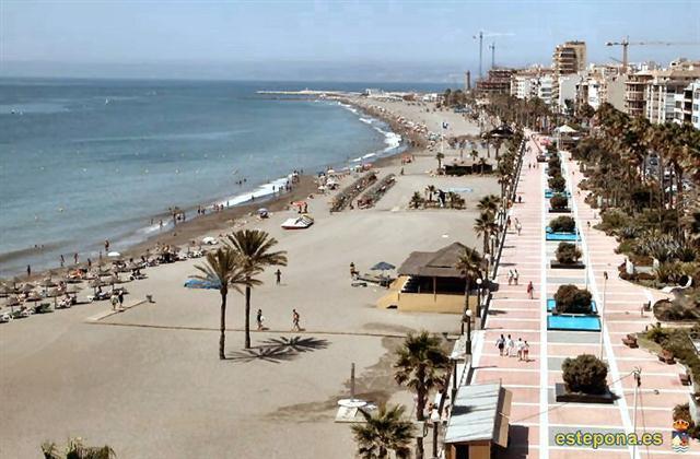 Estepona Prominade & Beach